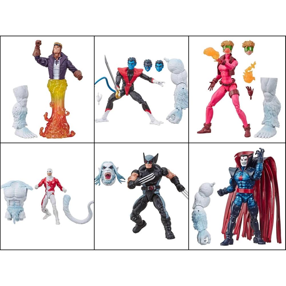 Coleção Marvel Legends – X Force – Com 6 Bonecos – Hasbro