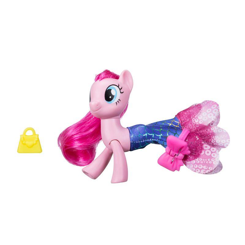 Figura My Little Pony Movie – 15 cm – Moda Terrestre e Marinha – Pinkie Pie – Hasbro – C0681